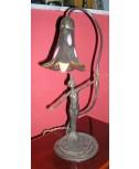Lampada con tulipe Tiffany