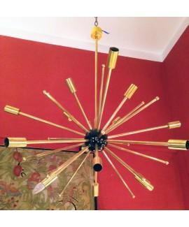 Lampadario Sputnik a sedici luci